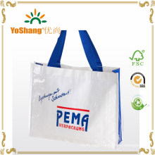 China PP Woven Bag, Plastic Packaging Bag, Hand Carry Bag