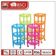 new design kitchen rack for plastic for supermarket