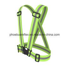 Reflective Safety Belt/ Bicycle Rider Safety Shoulder Belt