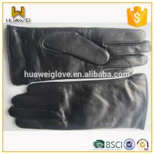 100% Cuir de peau de mouton Classic Ladies Long Leather Guts