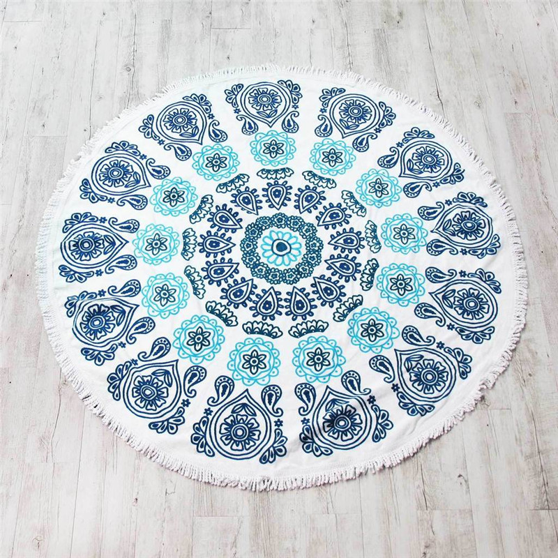 Round Pool Towels