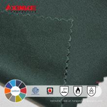 Xinke fornecer tecido retardante de fogo de algodão 100%