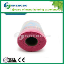 Needle punched Viscose non woven cleaning cloth rolls