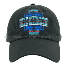 Gorra popular de béisbol de ocio de bordado de sarga de algodón (TMB0894)