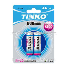 CE/SGS c 1.2v 200-1000 size AA ni-cd rechargeable batteries