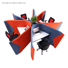 Office Workbench for Public Working Area