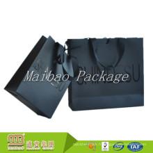 Impression de sac de papier de mode de conception faite sur commande de transporteur de prix d'usine de prix de haute qualité