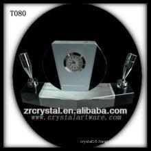 Wonderful K9 Crystal Clock T080