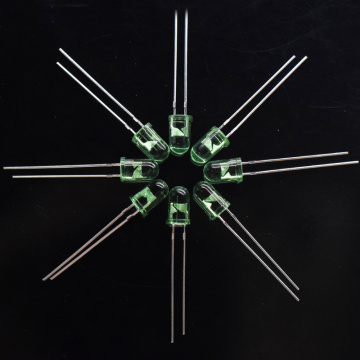 5mm Grön LED 535nm Deep Green LED Epistar