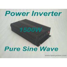 Inversor de la energía de la onda de seno de 1500 vatios puro / inversores de la CC a la CA
