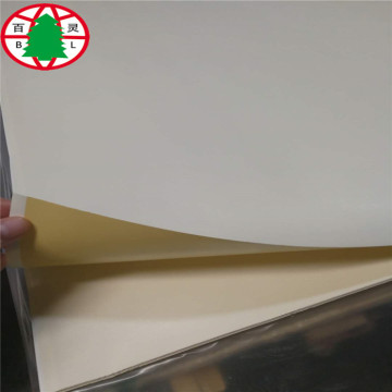 Titanium white melamine mdf board for furniture
