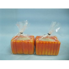 Pumpkin Candlestick Shape Ceramic Crafts (LOE2360-6.5z)