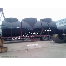 Raccords de tuyaux en acier sans soudure ASTM A234 Wpb Tee