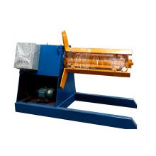 Fabriqué en Chine motertized acier manul ppgi bobine decoiler pour z canal forme purlin rouleau formant la machine