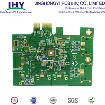 2-layer Gold Finger Immersion Gold FR4 PCB