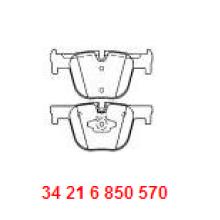 Aftermarket Piezas de Coches Ceramic Disc Brake Pad D1610 34216850570 para BMW F30