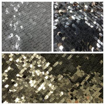 Vollversion von Bright Sequin Embroidery Fabric