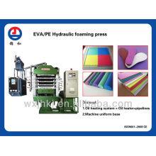 EVA/PE/Rubber hydraulic press