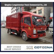 3-5 тонн света тележки sinotruk легкий грузовой тележки HOWO