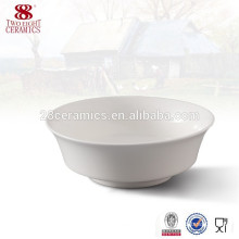 Used china Italian dinnerware flat bottom chinese ceramic round bowl