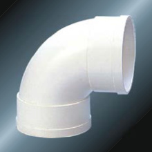 Din Drainage Upvc Elbow 90 ° Grey Color