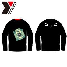 Pulls molletonnés d'OEM de qualité supérieure de sweatshirts d'OEM avec l'impression de personnaliser