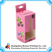 OEM offset printing nice logo cosmetic box packaging