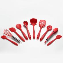 Juego de utensilios de cocina de silicona de 10 piezas