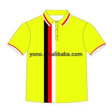 2017 dernier personnalisé impression sublimation polo shirt t-shirt pour les hommes