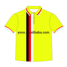 2017 lastest customized printing sublimation polo shirt t-shirt for men