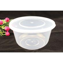 1000ml Plastikmikrowellen-Nahrungsmittelbehälter-Imbiss Einweg-rechteckiger Kasten