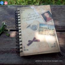 Spiral Binding / School/ Diary/A5 Hardcover Notebook (BX0403)