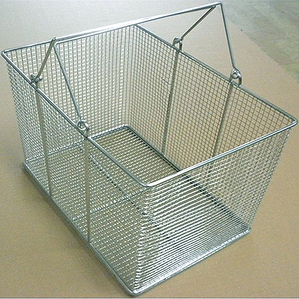 stainless steel mesh basket