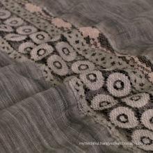 Fashion women head viscose dubai hijab wholesale muslim arab lace scarf shawl cotton hijab