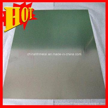 Feuille de titane d'ASTM B265 de catégorie 2 pour l'industrie