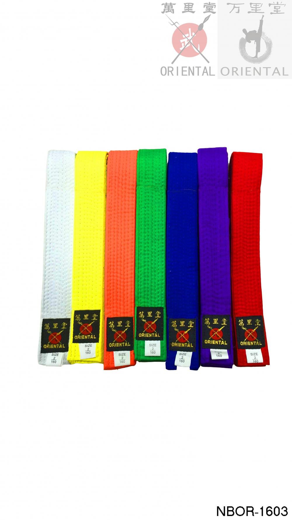 martial arts color belts in taekwondo