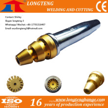 Sliver LPG Cutting Nozzle Tips for CNC Cutting Machine