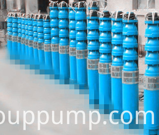 Inclined Horizontal Submerged submersible pump