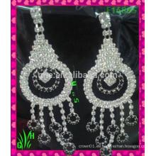 Pendientes de gota grandes y hermosas Pendientes de corazón de melocotón, diseños de pendientes de moda pendientes de nuevo modelo