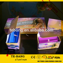 Hot sale hairdressing aluminum foil Without glue on inner core can be recycled