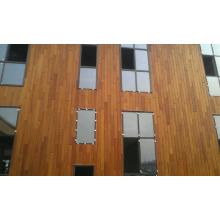 Paneles de pared exterior hechos de cedro rojo natural Wester