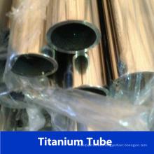 Gr5 tubo de acero inoxidable de titanio de fábrica de China