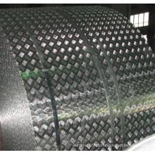 Bobina de piso em alumínio com 5 barras