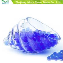 Bullet Gel Ball Mini redondo azul cuentas de agua de suelo de cristal