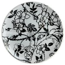 8inch Round Melamine Dish with Design