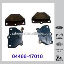Venda quente TOYOTA COROLLA peças freio de disco 04466-47010