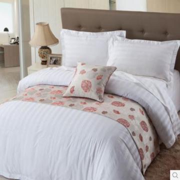 Canasin High Quality Hotel Leinen 3cm Streifen 100 % Baumwolle
