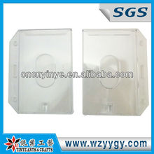 transparent plastic PS card holder, heat transfer printing
