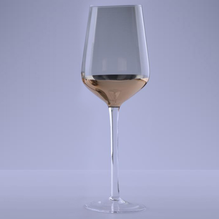 classic Copper Dipped Wine Glass Goblet