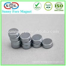qualitativ hochwertige kleinen runden Magneten Plastikfolie magnet